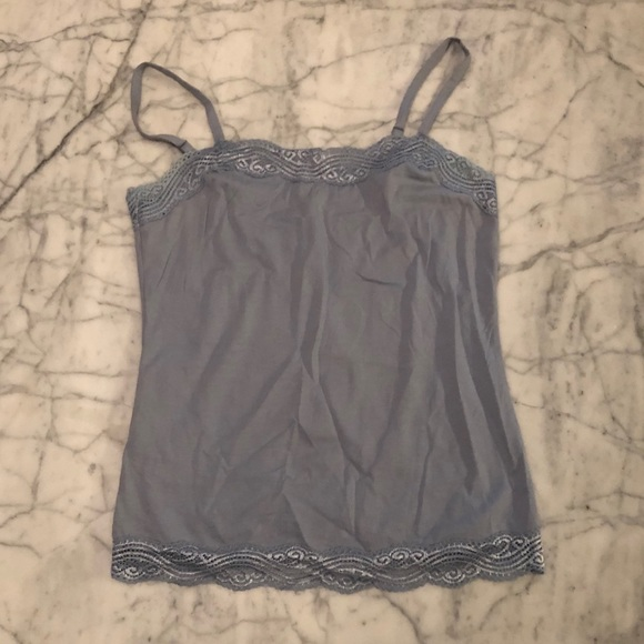 Ann Taylor Tops - Dusty Blue Tank Top
